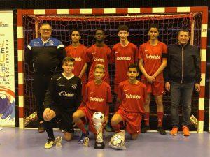 U15 champion regional futsal 2019